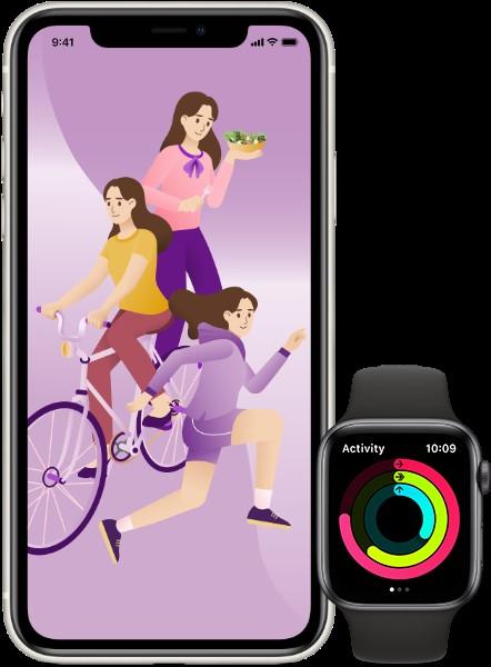 Apple Watch運動目標