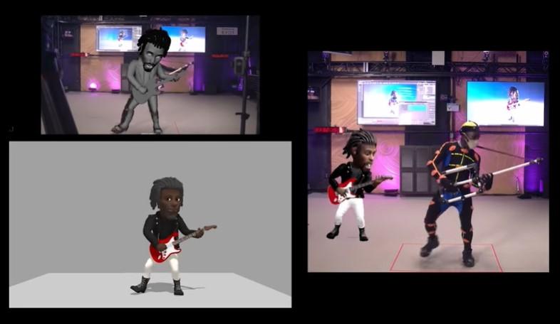 透過動作捕捉技術來製作3D Bitmoji動畫
