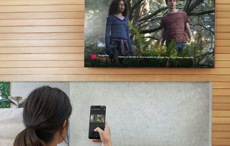 將手機的內容投放到大螢幕